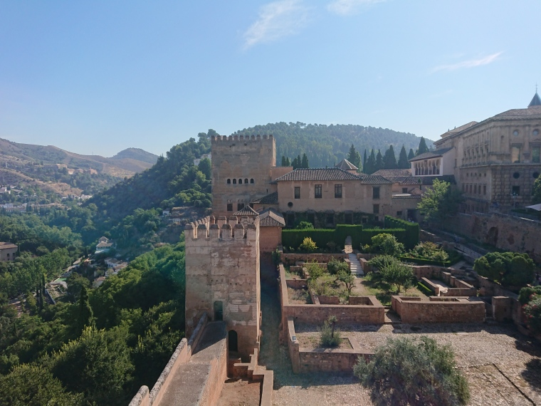Alhambra-grenade-Alcazaba-grenade-andalousie-visite-espagne
